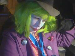 Ahlia as the Joker